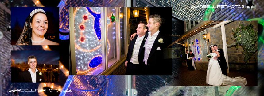 winter wedding photography near Bradford