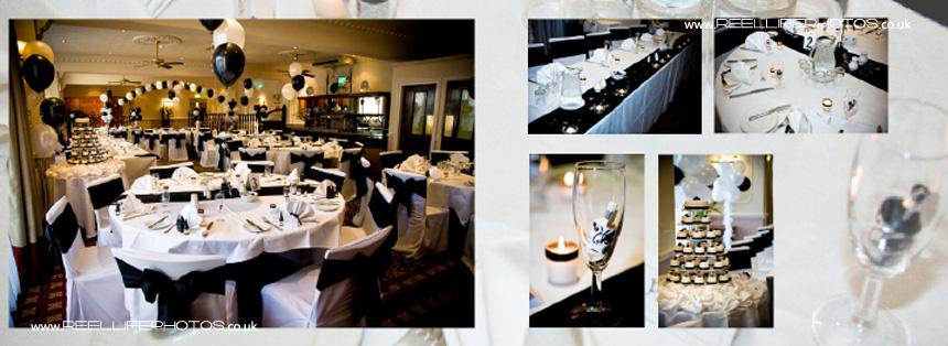 wedding reception at Tong Holiday Inn