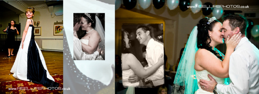 First dance pics from wedding at Holiday Inn West Yorkshire