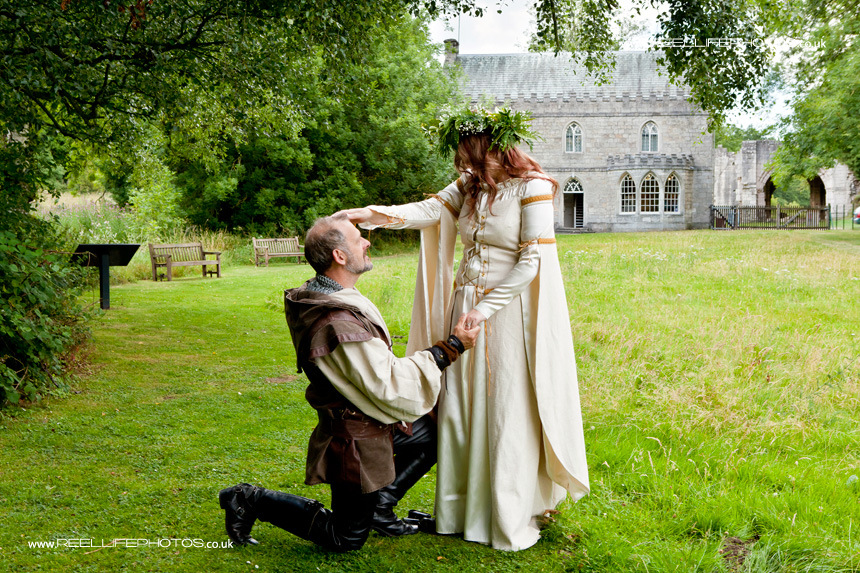 Medieval pre wedding picture