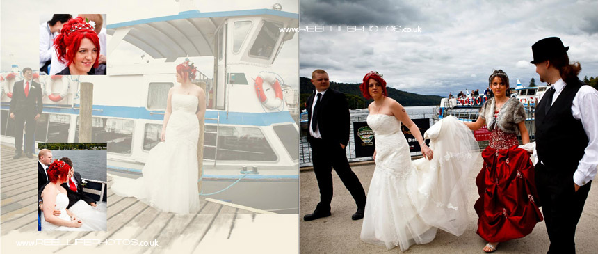 wedding photography by Lake Windermere