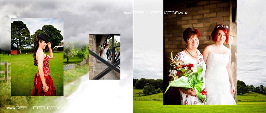 photos at wedding reception venue in Kendal