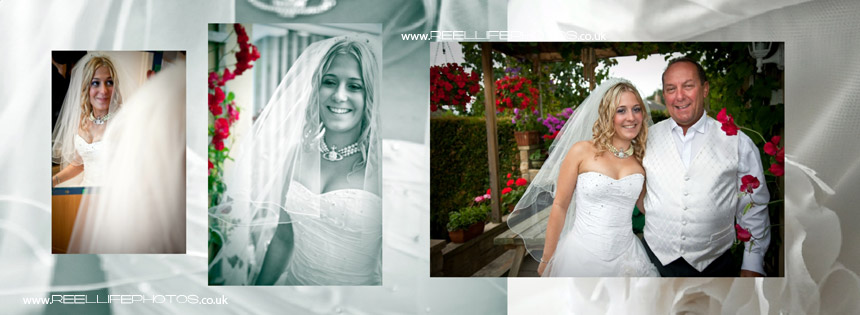 bridal portraiture by Reel Life Photos
