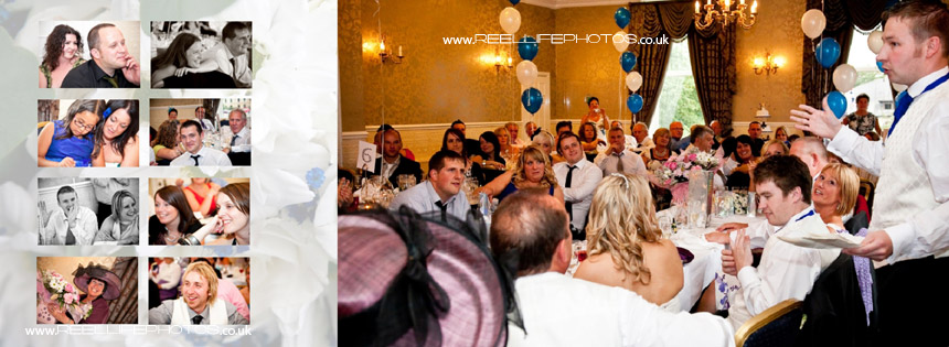 wedding speeches at Waterton Park Hotel