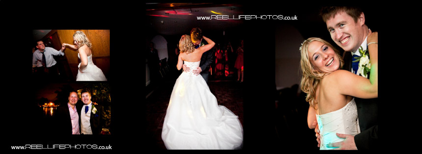 Evening wedding pictures, first dance, Waterton Park Hotel, night time photos