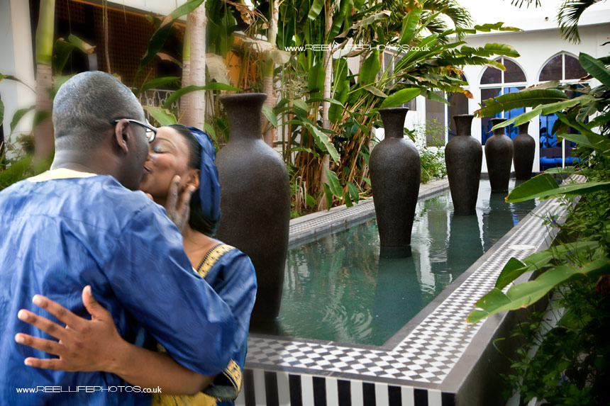 Wedding photography at Coco Ocean in the Gambia by UK wedding photographer Elaine