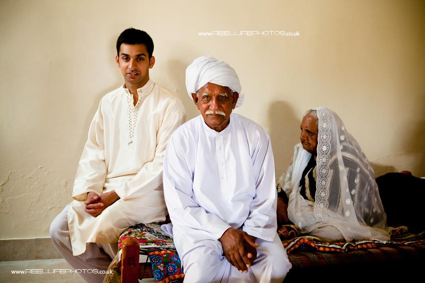 Groom's family in Pakistan
