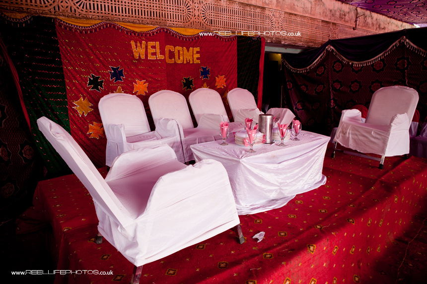 Asian wedding in Pakistan