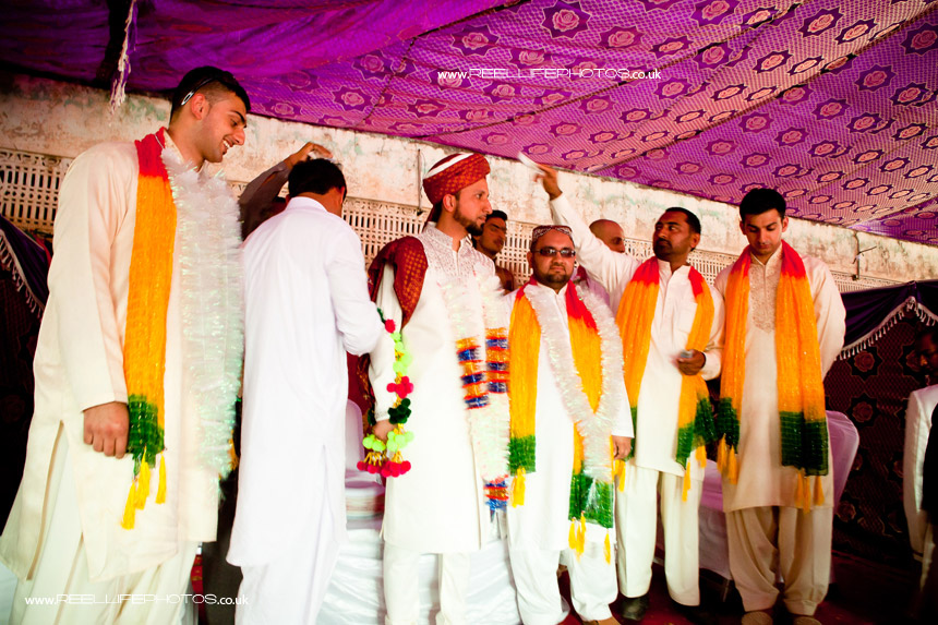 traditional Asian wedding in Pakistan