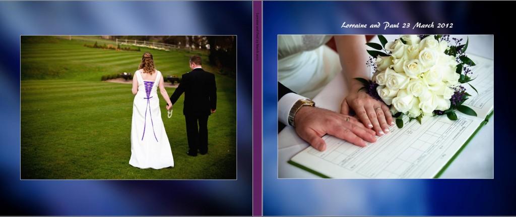 wedding storybook cover