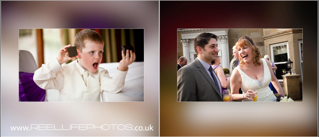 documentary wedding photos in reportage style