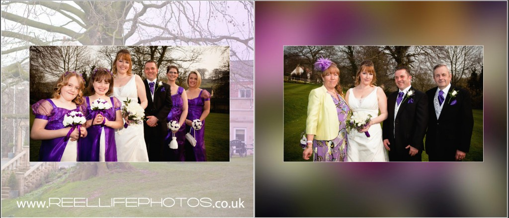 wedding photography by Reel Life Photos at Wentbridge House Hotel