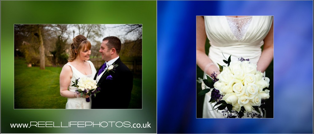 storybook wedding pictures at Wentbridge House in Yorkshire