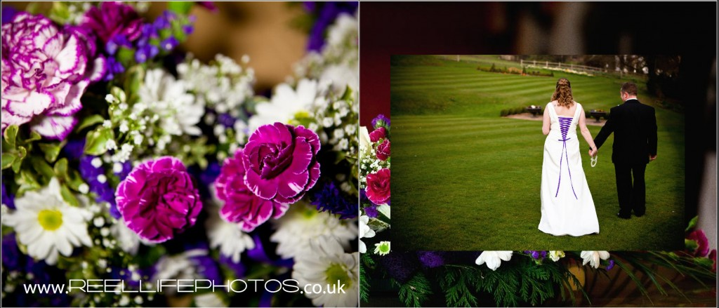 stylish wedding photography at Wentbridge House in Yorkshire