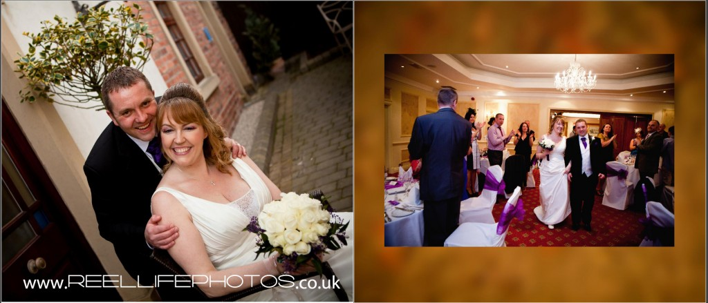 wedding reception pictures at Wentbridge House Hotel in West Yorkshire
