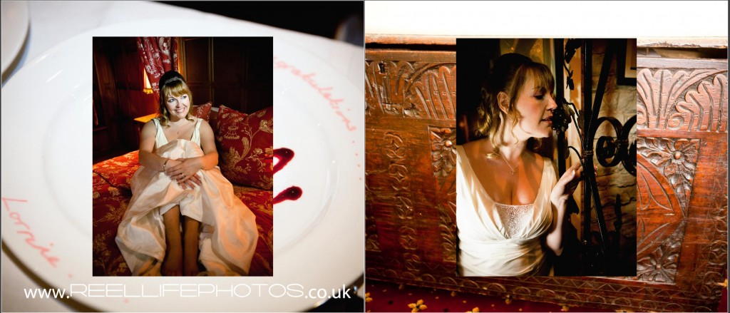 creative, fun photography at West Yorkshire wedding by Elaine of Reel Life Photos