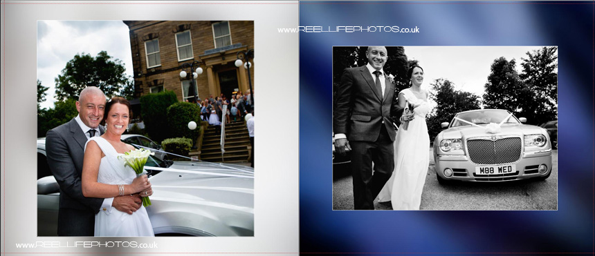 wedding pictures at Blenheim House in Batley, West Yorkshire