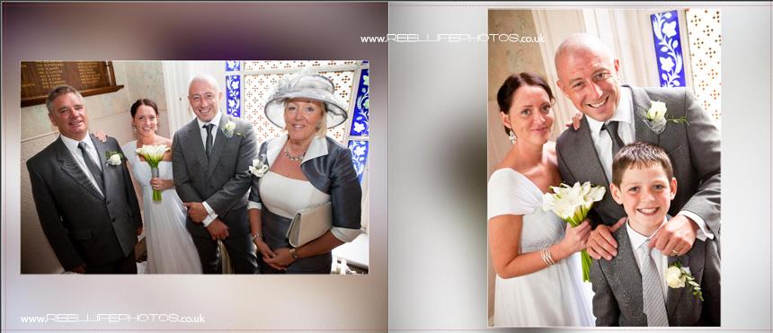 wedding storybook by female wedding photographer in Yorkshire
