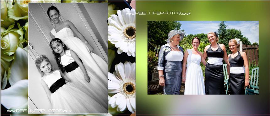 wedding storybooks by West Yorkshire wedding photographer