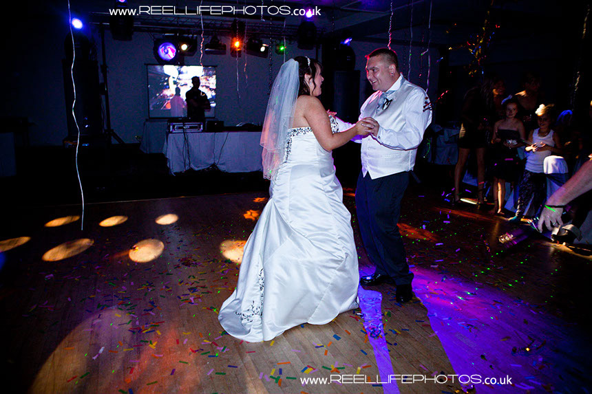 first dance evening reception wedding pictures