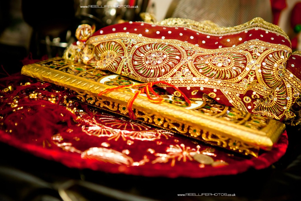 detail from Hindu Mayan wedding ceremony