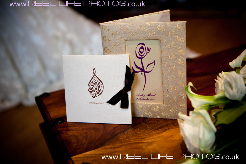 Iraqi Arabic wedding invitations