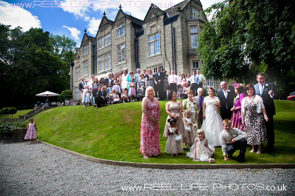 wedding photography at Woodlands Hotel in Leeds