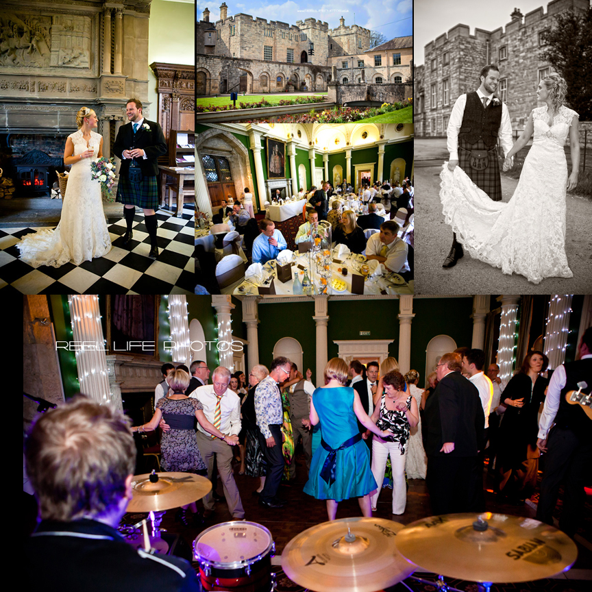 Hazlewood castle wedding pictures