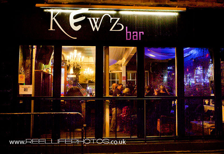 Kewz independent bar in Huddersfield town centre