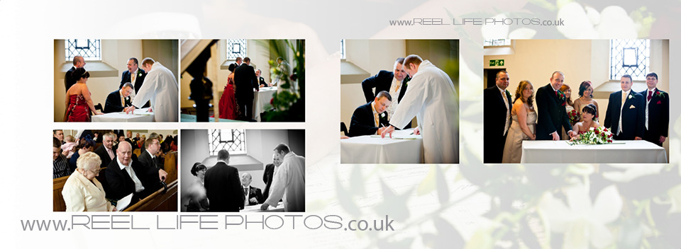 Wedding photography in Heckmondwike, at St James Church in West Yorksshire