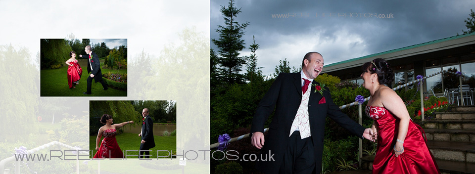 Real wedding photography which shows of the natural relationships