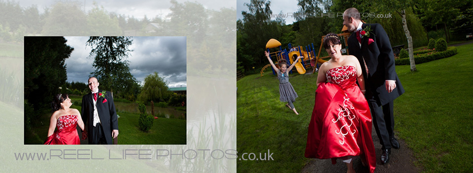 dramatic wedding photography at Ponderosa
