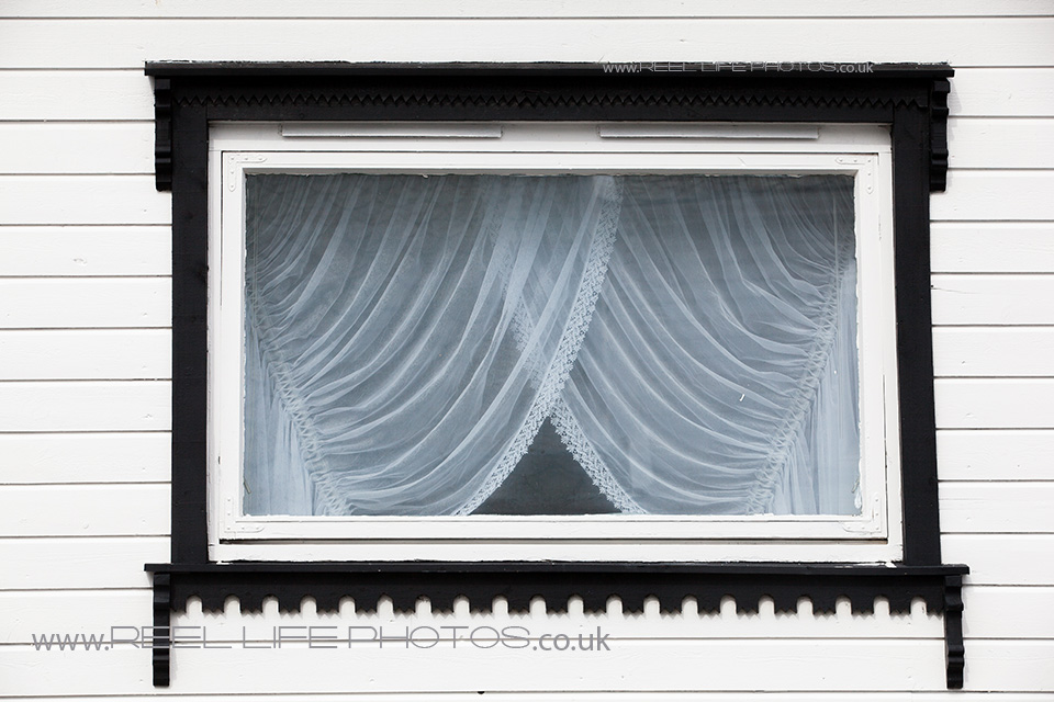 art image of a window in Norway