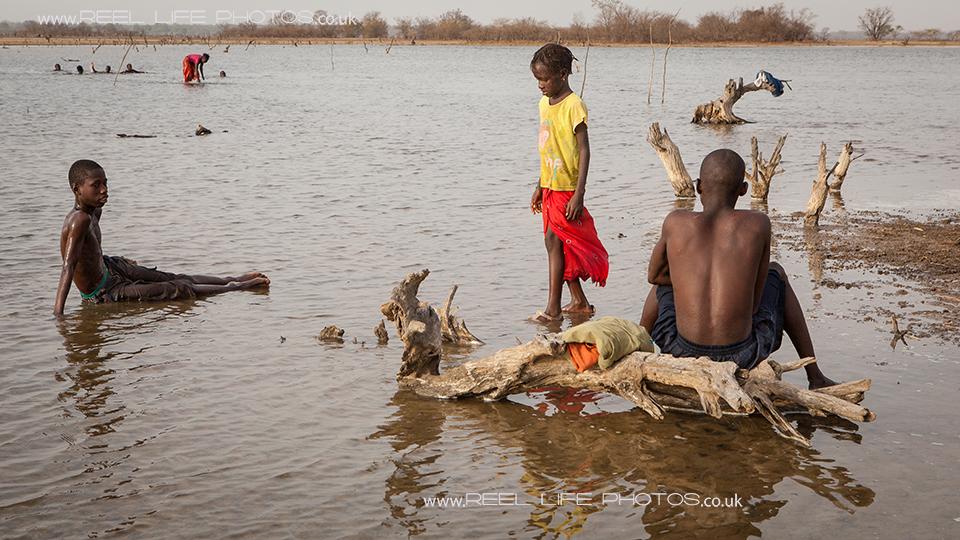Gambian children