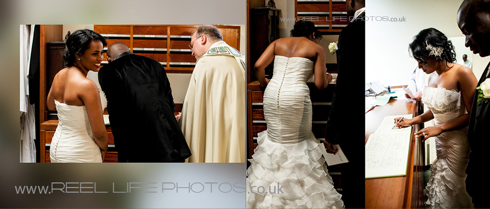 church wedding in London