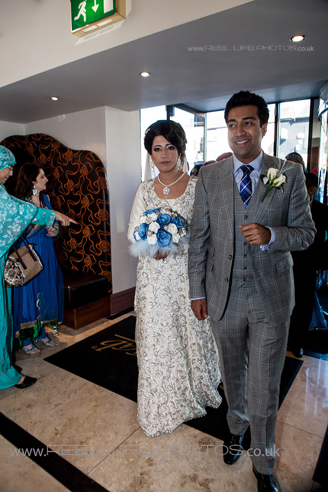 Female Asian wedding photographer for Nawaab's in Manchester