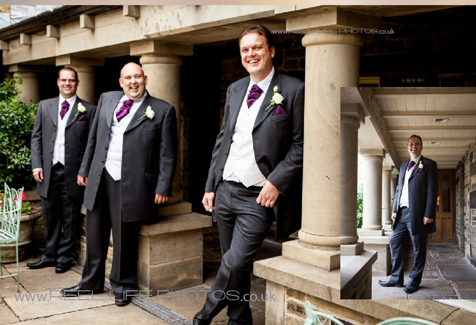 Holdsworth House in Halifax wedding pic
