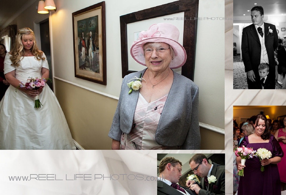 wedding ceremony at Holdsworth House in Halifax