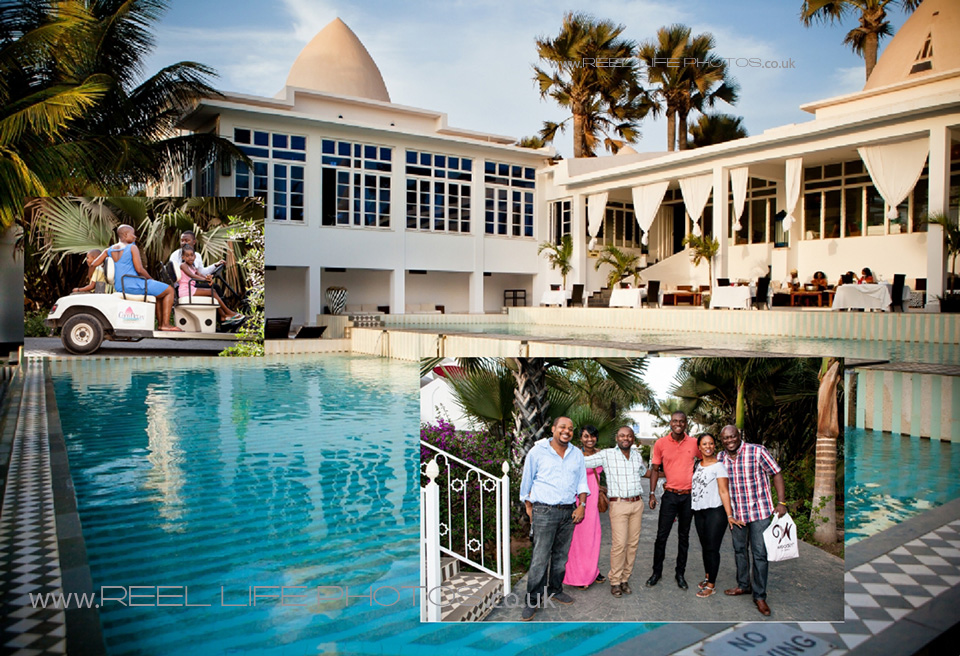 storybook wedding pictures at Coco Ocean in the Gambia
