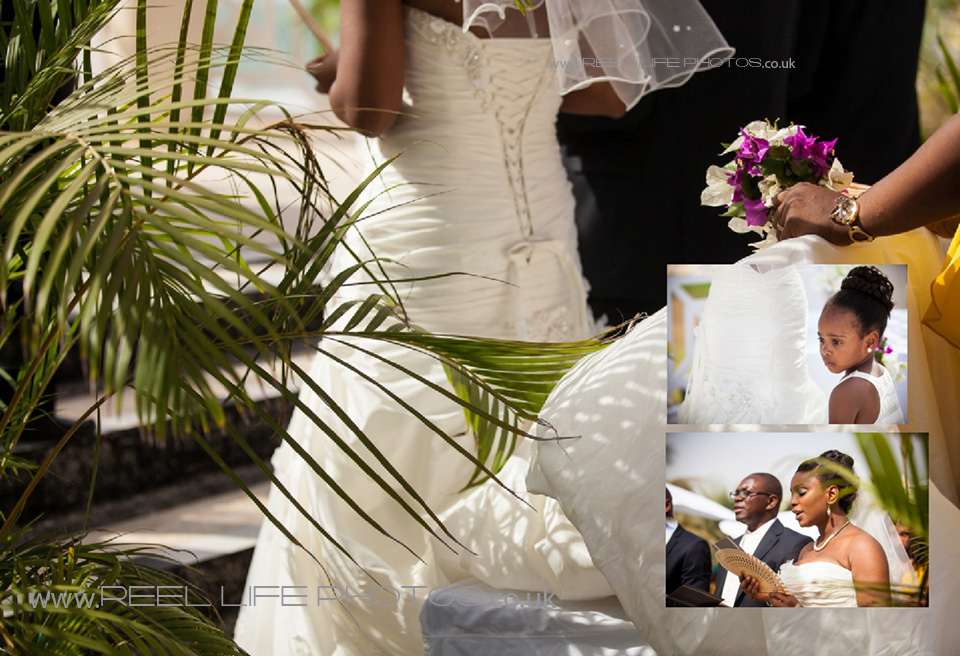 romantic wedding abroad by the sea at Coco Ocean in the Gambia