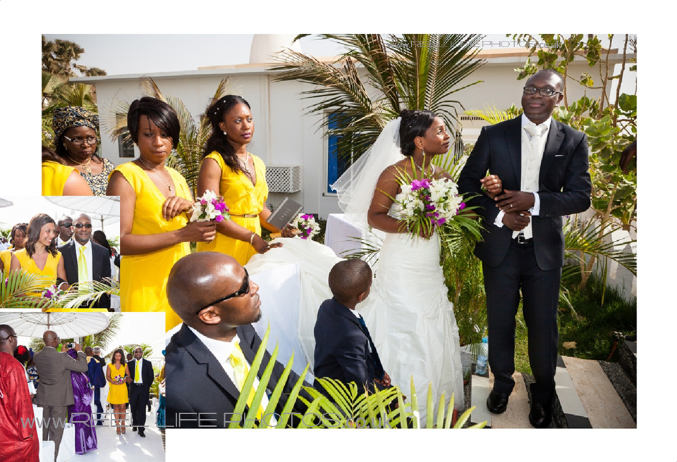 exotic wedding abroad in the Gambia by uk photographer who travels
