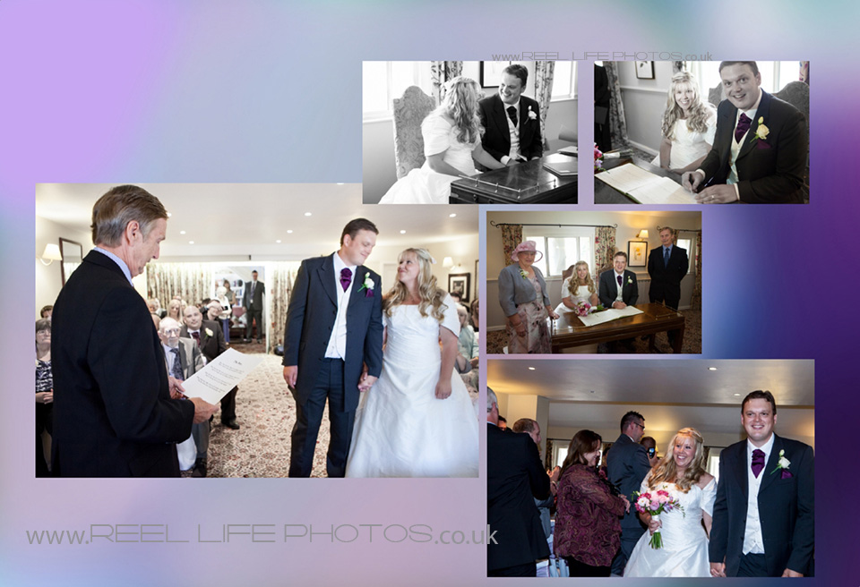 Holdsworth House wedding ceremony pictures