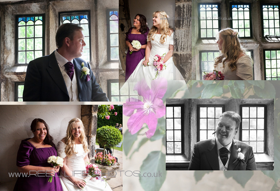 wedding pictures inside Holdsworth House wedding venue in Halifax