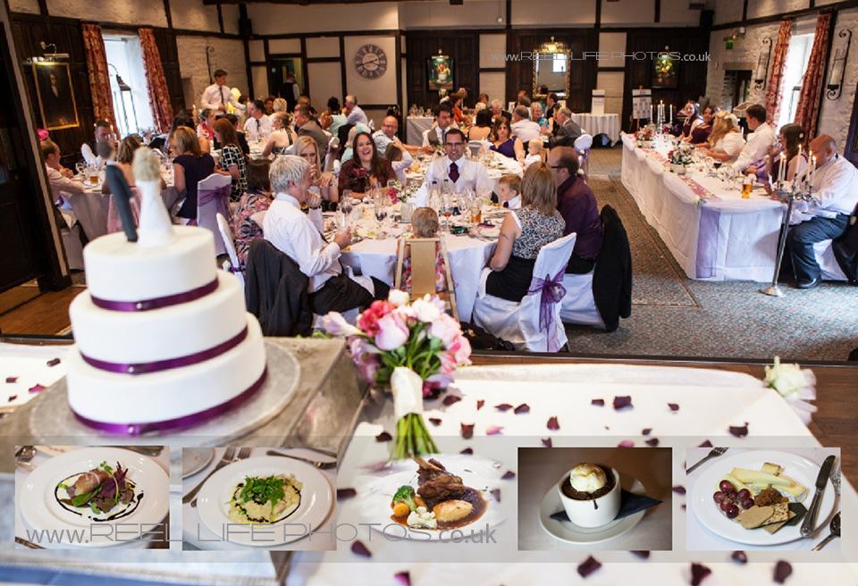 wedding reception at Holdsworth House in Halifax