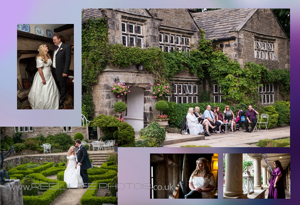 reportage wedding pictures by wedding photographer in West Yorkshire