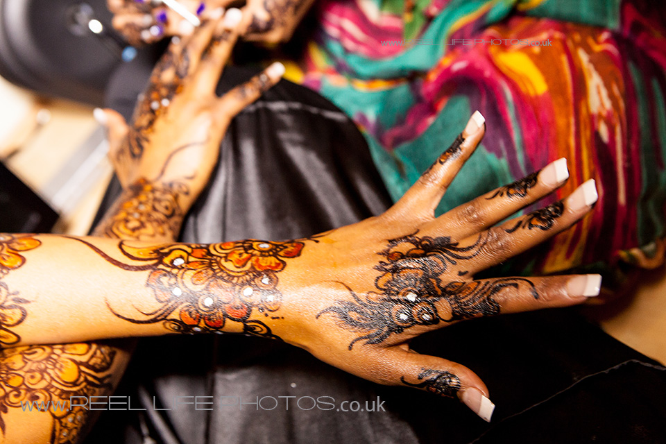Gorgeous Somali bride's hands