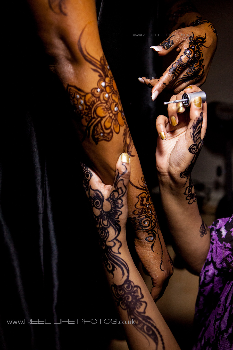 Picture of Somali wedding preparations