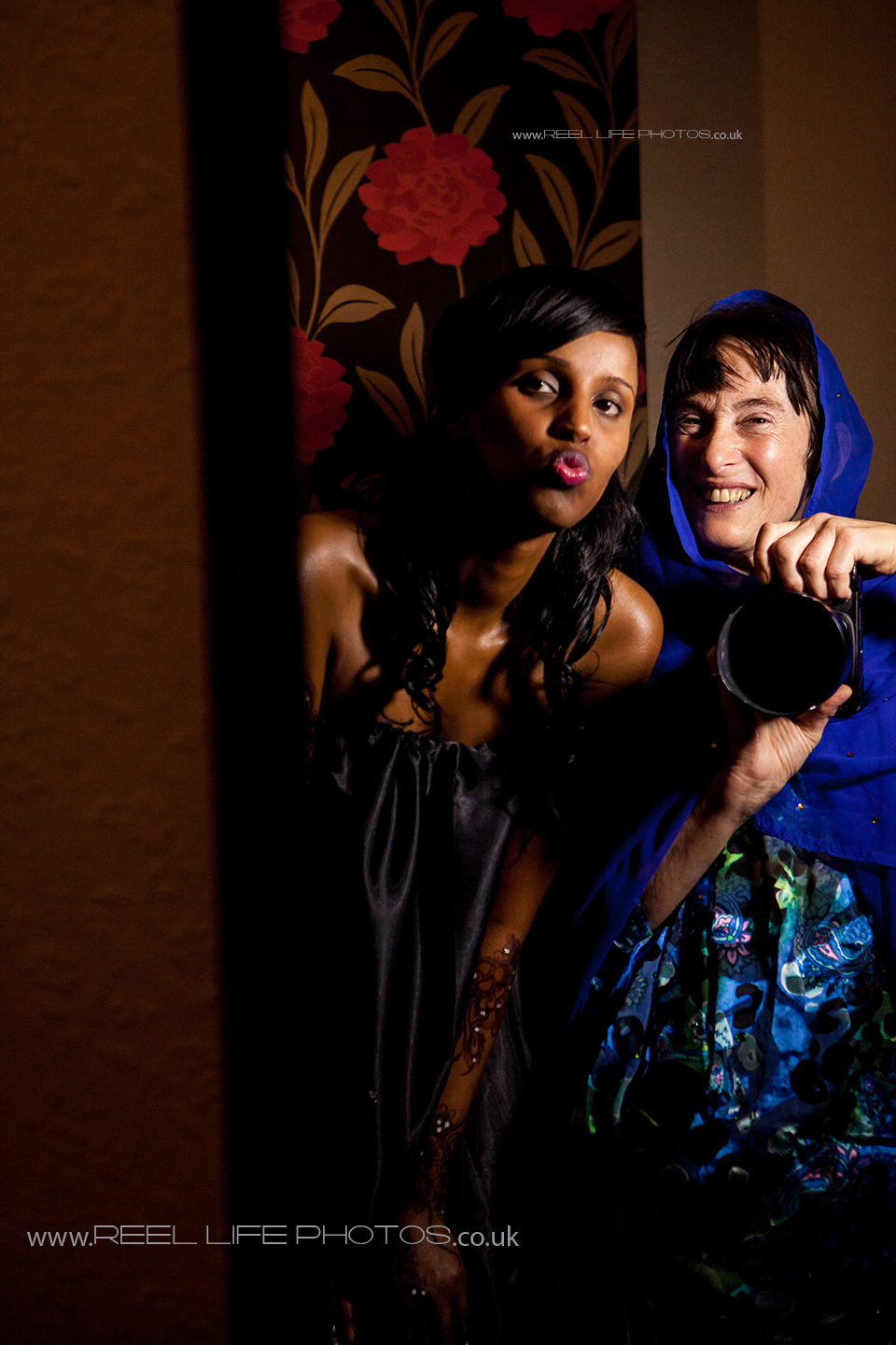 Wedding photographer Elaine with Somali bride