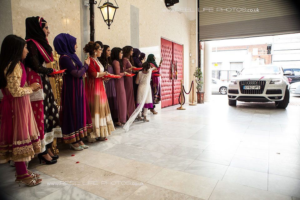 Bolton Excellency entrance - Best Asian wedding venue in the North of England