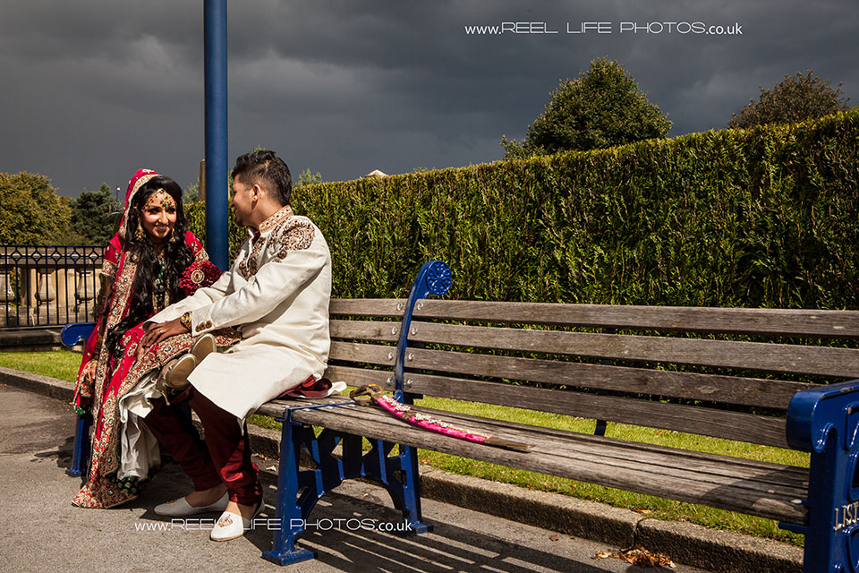 Natural Asian wedding photography in Bradford